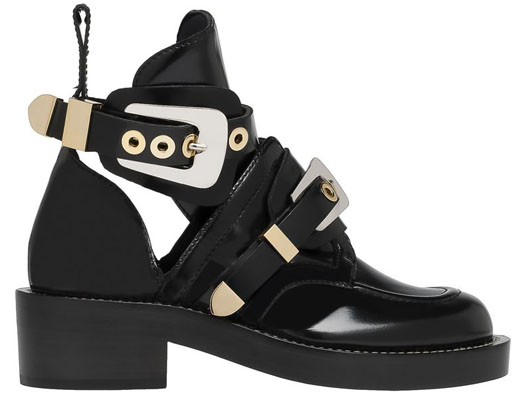 Balenciaga 'Ceinture' Cut-Out Ankle Boots