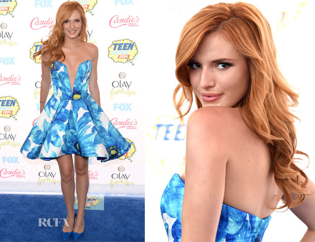 Bella Thorne In Candies - 2014 Teen Choice Awards
