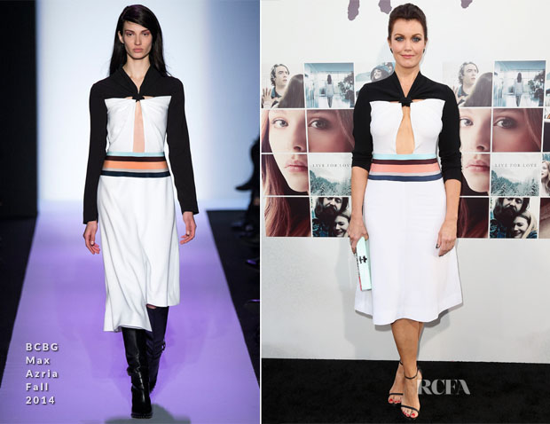 Bellamy Young In BCBG Max Azria - 'If I Stay' LA Premiere