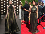 Bellamy Young In Naeem Khan Fall 2014 - 2014 Creative Arts Emmy Awards