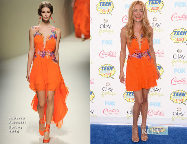 Cat Deeley In Alberta Ferretti - 2014 Teen Choice Awards