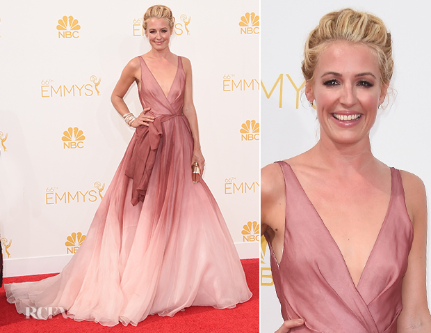 Cat Deeley In Burberry - 2014 Emmy Awards