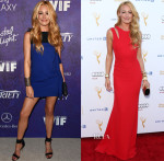 Cat Deeley In Christian Siriano, Pamella Roland & Burberry - Emmys Weekend