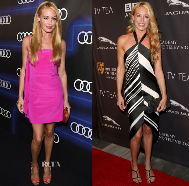 Cat Deeley In Christian Siriano, Pamella Roland - Emmys Weekend