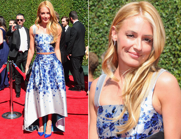 Cat Deeley In Sachin & Babi Noir - 2014 Creative Arts Emmy Awards