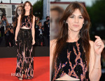 Charlotte Gainsbourg In Louis Vuitton -  '3 Coeurs' Venice Film Festival Premiere