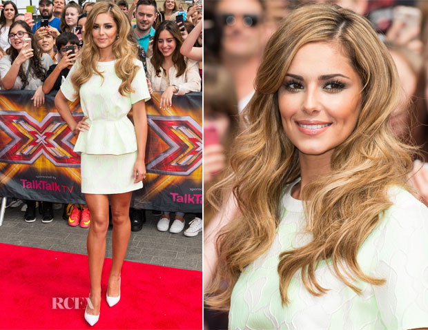 Cheryl Cole In 31 Phillip Lim - X Factor Wembley Arena Auditions