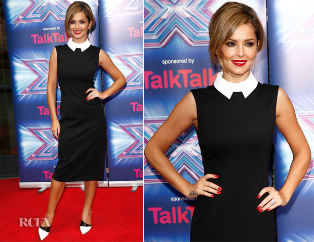 Cheryl Fernandez-Versini In Jason Wu - 'The X Factor Press Launch