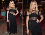 Chloe Grace Moretz In Dolce & Gabbana - 'If I Stay' LA Premiere After-Party