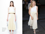 Chloe Grace Moretz In Proenza Schouler - Good Morning America