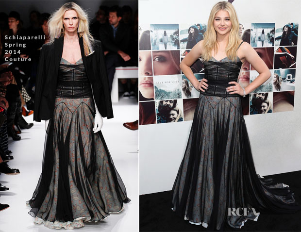 Chloe Grace Moretz In Schiaparelli Couture - 'If I Stay' LA Premiere