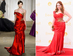 Christina Hendricks In Marchesa - 2014 Emmy Awards