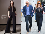 Christina Hendricks In Temperley London - BBC Studios