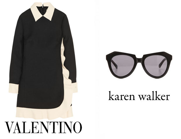Ciara In Valentino & Karen Walker