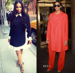 Ciara In Valentino & Sportmax - New York Live