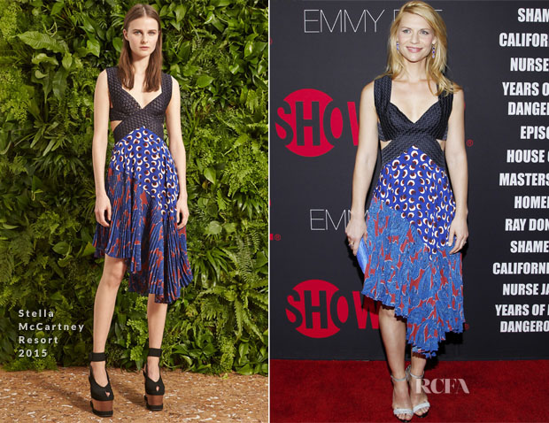 Claire Danes In Stella McCartney - Showtime 2014 Emmy Eve Soiree