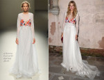 Constance Jablonski In Alberta Ferretti - 'The Humbling' Venice  Film Premiere After Party