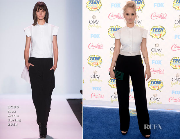 Debby Ryan In BCBG Max Azria - 2014 Teen Choice Awards