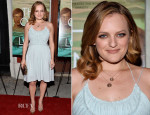 Elisabeth Moss In Chloé - 'The One I Love' LA Premiere