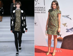 Elodie Bouchez In Saint Laurent - 'Reality' Venice Film Festival Photocall & Premiere
