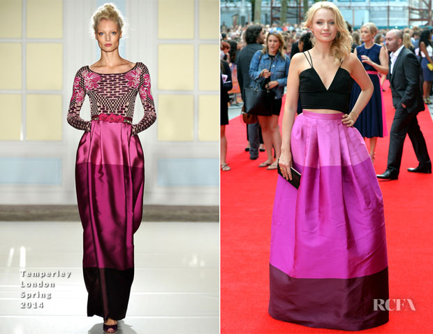 c8b72cd4827e Emily Berrington In Temperley London -  The Inbetweeners 2  World Premiere