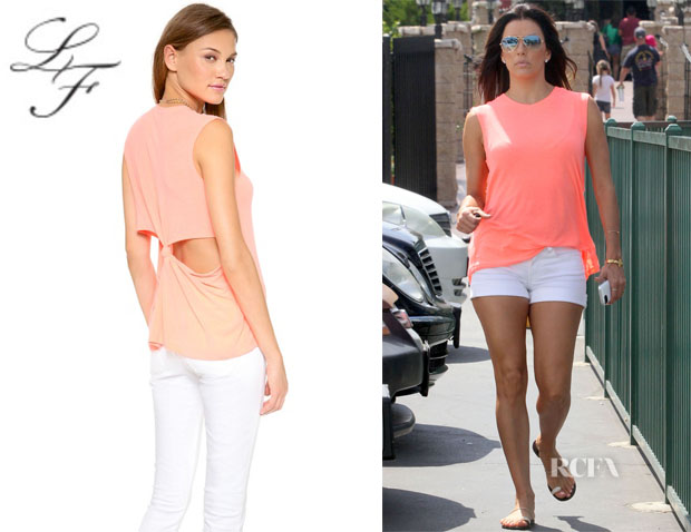 Eva Longoria's Lovers + Friends 'She's A Woman' Tank