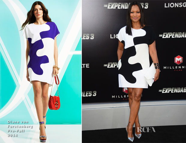 Garcelle Beauvais In Diane von Furstenberg - 'The Expendables 3' LA Premiere