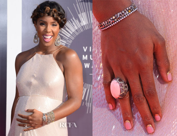Get The Look: Kelly Rowland's MTV Video Music Awards Mani