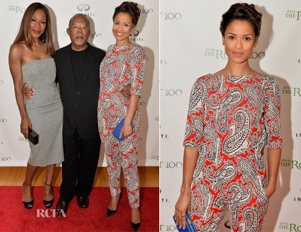 Gugu Mbatha-Raw In Etro - Root 100 2014 List Release Reception