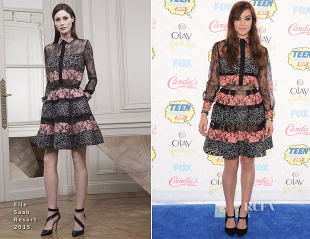 Hailee Steinfeld In Elie Saab - 2014 Teen Choice Awards
