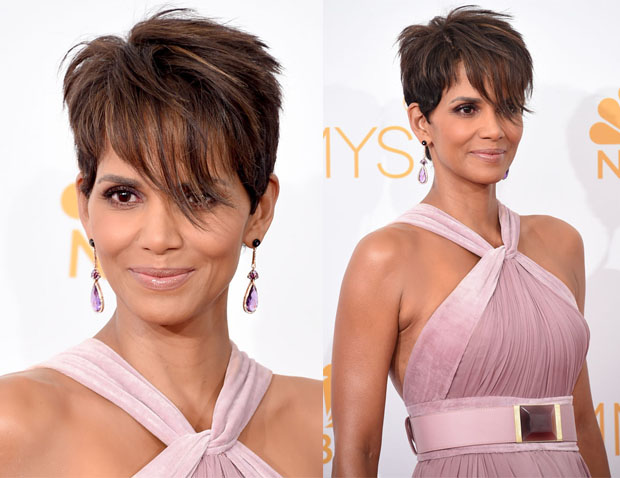 Get The Look: Halle Berry's Emmy Awards Soft Smoky Beauty Look