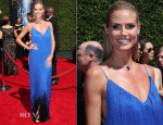 Heidi Klum In Sean Kelly - 2014 Creative Arts Emmy Awards