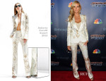 Heidi Klum in Roberto Cavalli -  'America's Got Talent' Post Show Red Carpet