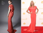Heidi Klum In Zac Posen - 2014 Emmy Awards