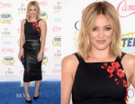 Hilary Duff In Sachin & Babi Noir & ASOS - 2014 Teen Choice Awards