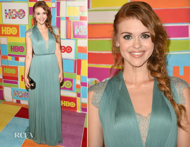 Holland Roden In Catherine Deane - HBO's Emmy Awards Post-Awards Reception