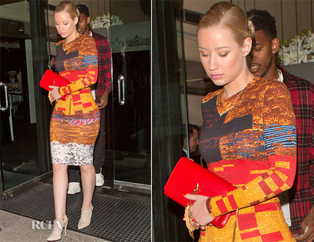 Iggy Azalea In Givenchy - Mr. Chow