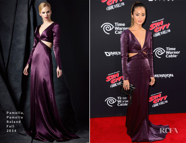 Jamie Chung In Pamella, Pamella Roland - 'Sin City: A Dame To Kill For' LA Premiere