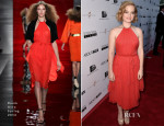 Jane Levy In Reem Acra - 'About Alex' LA Premiere