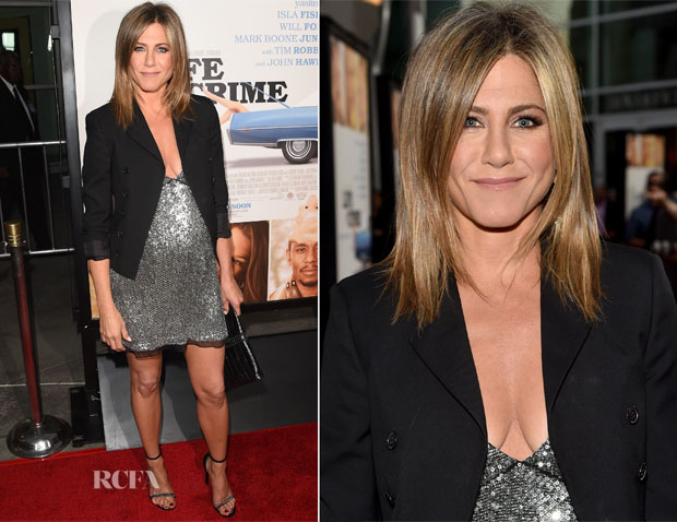 Jennifer Aniston In Saint Laurent - 'Life Of Crime' LA Premiere