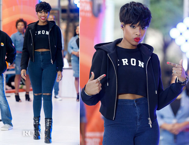 Jennifer Hudson In Givenchy & Topshop - The Today Show