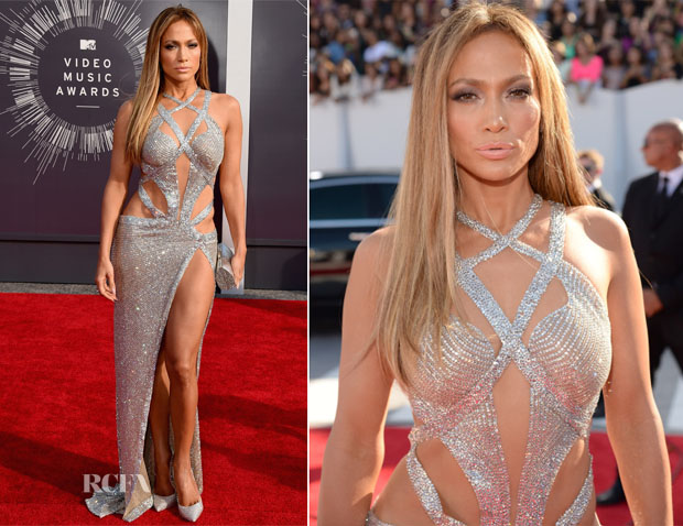 Jennifer Lopez In Charbel Zoe - 2014 MTV Video Music Awards #VMA