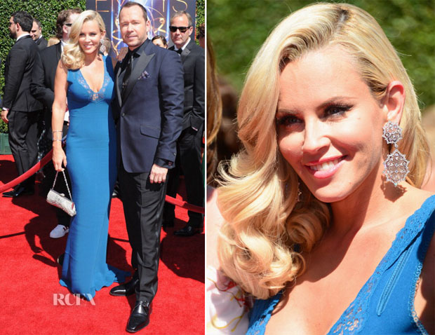 Jenny McCarthy In Stella McCartney -  2014 Creative Arts Emmy Awards