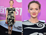 Jess Weixler In Diane von Furstenberg - 'Listen Up Philip' Sundance NEXT FEST Screening
