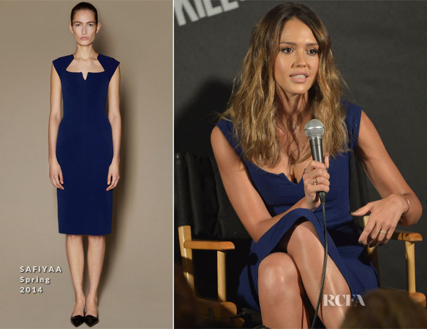 Jessica Alba In SAFiYAA - 'Sin City A Dame to Kill For' LA Press Conference