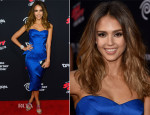Jessica Alba In Zac Posen - 'Sin City: A Dame To Kill For' LA Premiere