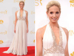Joanne Froggatt In J Mendel - 2014 Emmy Awards