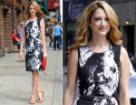Judy Greer In Preen - Late Show With David Letterman