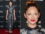 Judy Greer In RED Valentino - 'Jamie Marks Is Dead' LA Premiere
