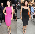 Julia Louis-Dreyfus In Paula Ka & Ports 1961 - Good Morning America & Late Show with David Letterman